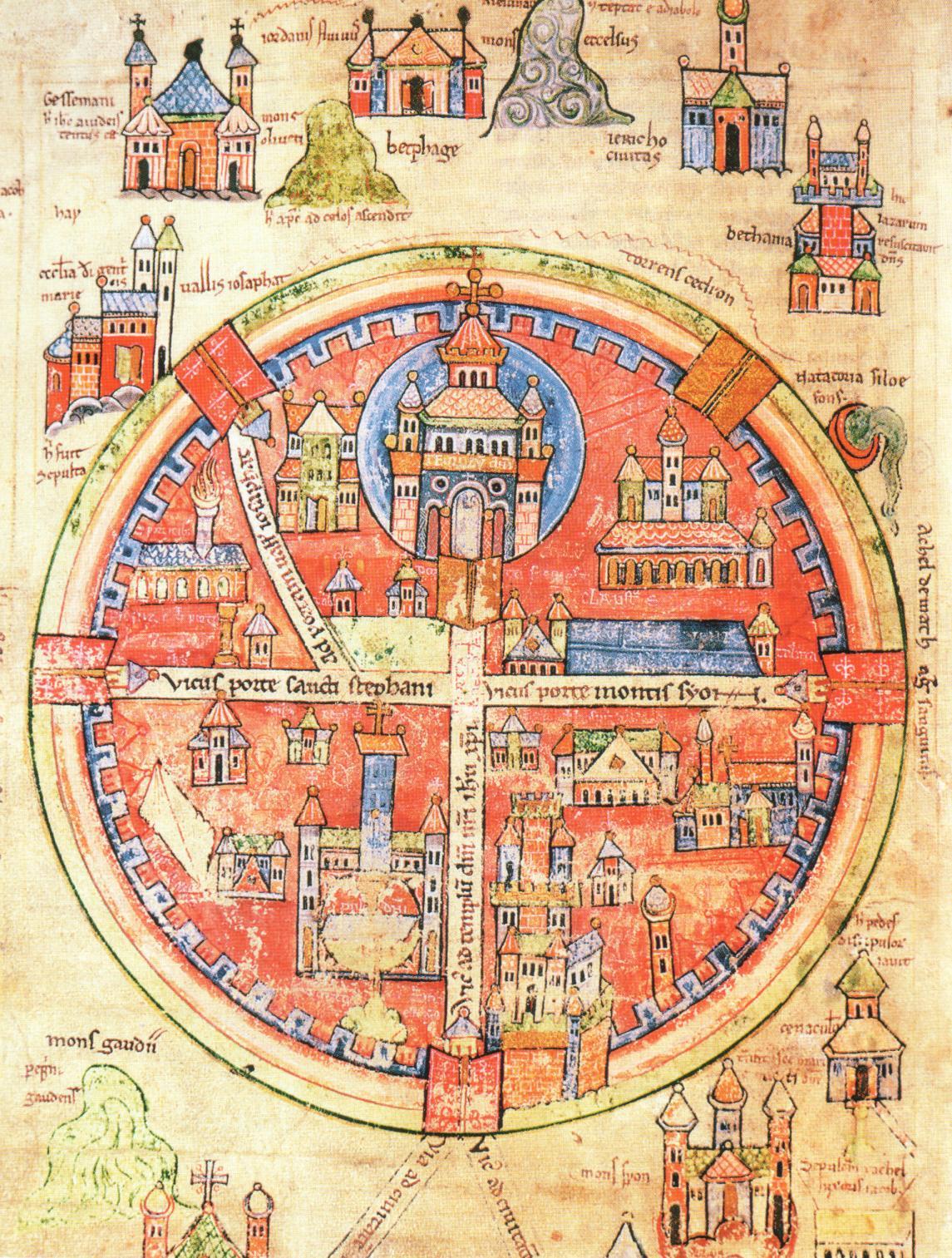 13th century st omar map of crusader jerusalem maps pinterest 13th century st omar map of crusader jerusalem maps pinterest crusaders jerusalem and medieval gumiabroncs Images